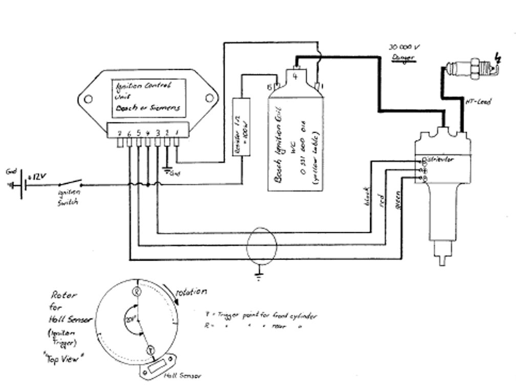 Wiring Diagram For Electronic Distributor: Indian Riders - Electronic Ignition,Design
